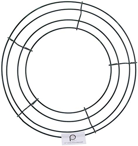 Panacea Wire Wreath Frame - Wire Frames With Ties Wreath