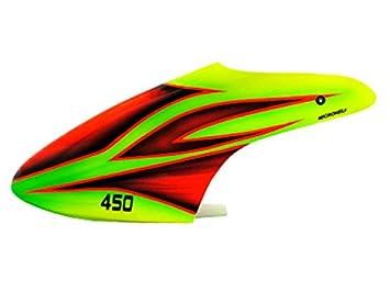Microheli Airbrush Fiberglass Green Fire Canopy - BLADE 450X/3D  sc 1 st  Amazon.com & Amazon.com: Microheli Airbrush Fiberglass Green Fire Canopy ...
