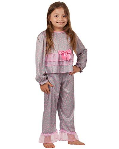 Girlie Baby Doll Shirt - Laura Dare Baby Girls Happy Hearts Ruffled PJ Set, 12m