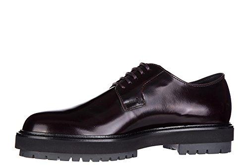 Tod's clásico zapatos de cordones hombres en piel nuevo derby fondo fashion extr