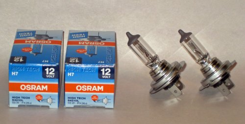 osram h7 headlight bulb - 2