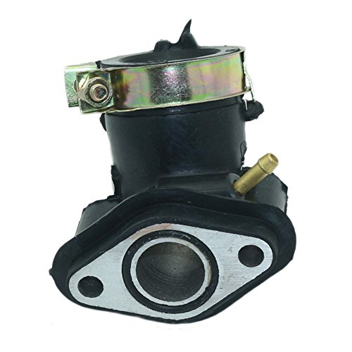 - JINGKE GY6 49cc 50cc Scooter Carburetor Intake Manifold Inlet Pipe for 139QMB 139QMA Engine Moped ATV Go Kart