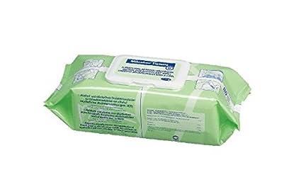 Hartmann mikrobac tissues 6 x 80 toallitas desinfectantes para la desinfección rápido.