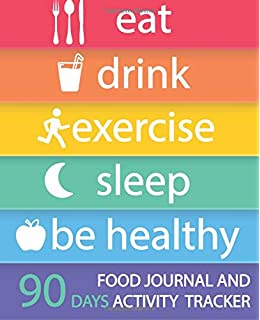 i love my food and exercise journal food journals 9781499735505