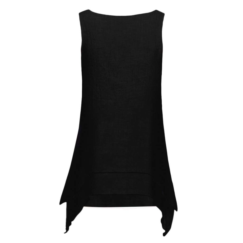 Slyar Camisetas Mujer Manga Corta Elegante Top De Dobladillo Irregular con Cuello De Pico Casual para Mujer Camisetas Tirantes Mujer Tallas Grandes Camisetas Mujer Manga Corta Bonitas De Moda