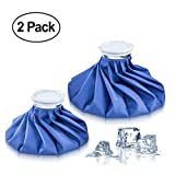 Botenvin Ice Bag Set of 2 Hot & Cold Reusable Ice Bags, Instant Relief From Pain Swelling
