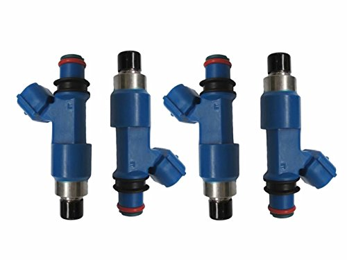 (NEW SET OF 4 FUEL INJECTORS FOR 2006-2013 SUBARU FORESTER IMPREZA LEGACY OUTBACK 2.5L)