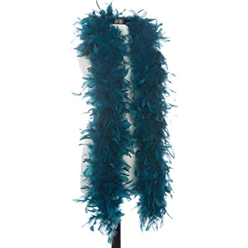 Teal 65 Gram Chandelle Feather Boas (Chandelle Boa)