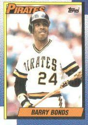 38dd5225cf3 1990 Topps Barry Bonds Baseball Card  220  Amazon.ca  Sports   Outdoors