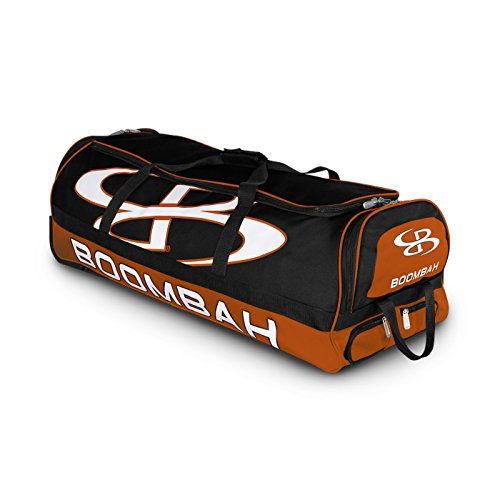 "Boombah Brute Rolling Baseball / Softball Bat Bag - 35"" x..."