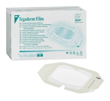Transparent Dressing 3M Tegaderm™ Film 6 X 8 Inch, 10 Per Box