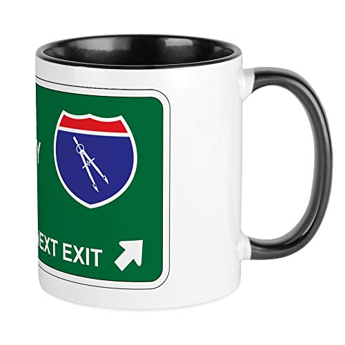 CafePress Drafting Territory Mug Unique Coffee Mug, Coffee -