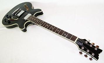 Cher rystone 4260180881585 semi Acoustic Jazz/Blues S de guitarra BK: Amazon.es: Instrumentos musicales