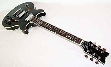 Cher rystone 4260180881585 semi Acoustic Jazz/Blues S de guitarra BK