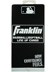 Franklin Sports MLB Baseball/Softball Line up Cards
