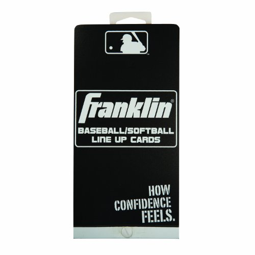 Franklin Sports MLB Baseball/Softball Line Up Cards