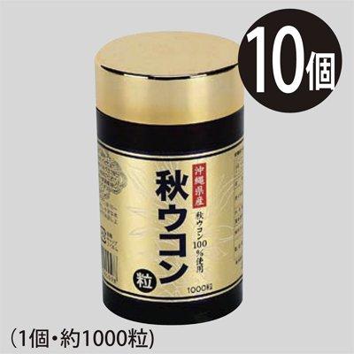 沖縄産100% 秋ウコン粒10個(1個約1000粒) B00MIJ8SKA