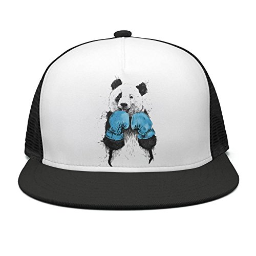 PPLLMMA Boxing Panda Sketch Drawing Washed 100% Cotton Classic Adjustable c Low Profile Cap Hat