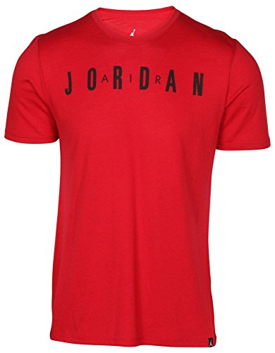 NIKE Jordan Men's The Iconic Air Jordan T-Shirt-Gym Red-2XL by NIKE