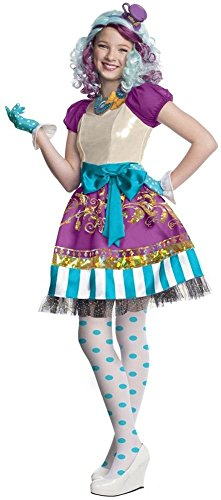 Ever After High Madeline Hatter Girls Costume Tv Show Mad Hatter Doll