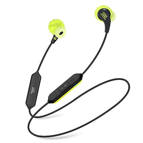 (Renewed) JBL Endurance Run BT Sweat Proof Wireless in-Ear Sport Headphones (Yellow)