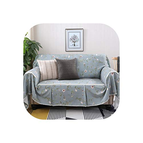Modern Plaid Sofa Towel Flower Floral Stripe Sofa Couch Cover Wave Print Slipcover 1/2/3/4 Seater Sofa Cover,5,3 Seater 215x300cm