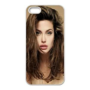 Angelina Jolie iPhone 4 4s Cell Phone Case White Oebwn