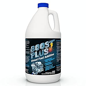 Boost PLUS | Best Diesel Engine Fuel Additive | Cleans Engine and Increases Fuel Economy (1 Gallon)
