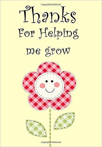 thanks for helping me grow thank you gift for teacher teacher