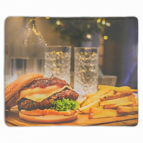 (Beef Bokeh Bottle Mouse Pad Game Office Thicker Mouse Pad Decorated Mouse)