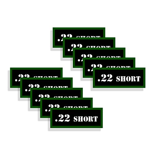 Speed Demon Hot Rod Shop Ammo Can Labels 22 Short Ammunition Decals 10 Pack Adhesive Vinyl 3