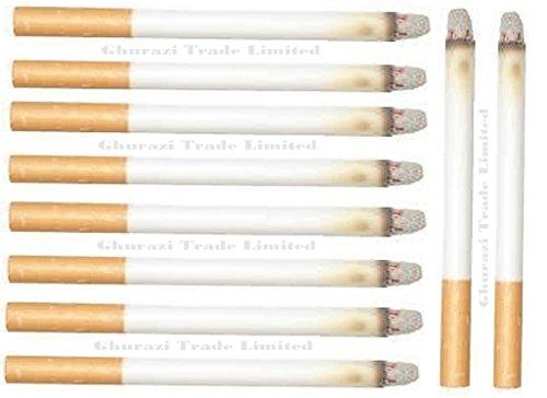 be5c609412d Ghurazi Trade Limited Multi Pack Fake Cigarettes Fags Smoke Effect Lit End  Joke Pranks Novelty Trick Fancy Gifts Bulk Lot (Pack of 10)