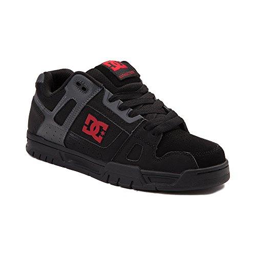 登録する以前はスキム(ディーシー) DC 靴?シューズ メンズスケートシューズ Mens DC Stag Skate Shoe Black/Gray ブラック/グレー US 11 (29cm)