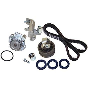DNJ TBK800DWP Timing Belt Kit with Water Pump for 2001-2006 / Audi, Volkswagen / A4, A4 Quattro, Passat / 1.8L / DOHC / L4 / 20V / 1781cc / AMB, AWM