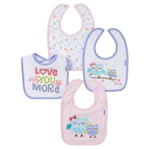 Gerber Unisex Baby Pack Bib