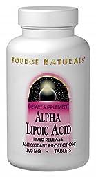 Source Naturals Alpha Lipoic Acid 300mg, 240 Tablets