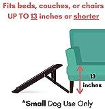Internet's Best Small Adjustable Pet Ramp - Small