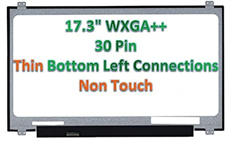 LED DIODE Au Optronics B173rw01 V.0 Bottom Right Connector Replacement LAPTOP LCD Screen 17.3 WXGA+ Substitute Only. Not a