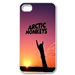 Custom High Quality WUCHAOGUI Phone case Arctic Monkeys Music Band Protective Case For Iphone 4 4S case cover - Case-20