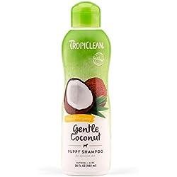 Tropiclean Hypo Allergenic Gentle Coconut Puppy & Kitten Shampoo, 20-ounce