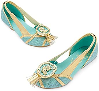 Tienda de Disney Princess Jasmine disfraz zapatos ~ Aladdin (13/1 ...