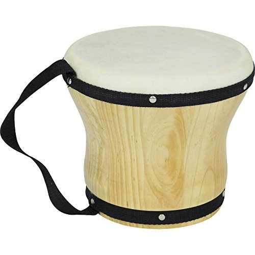 Bongo Drum Instruments - Rhythm Band RB1025B Bongo Drum with Mallet