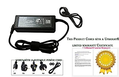UpBright® New Global AC / DC Adapter For Fargo DTC550 Direct-to-Card DTC550-LC ID Printer Power Supply Cord Cable Charger Input: 100 - 240 VAC Worldwide Voltage Use Mains PSU from upbright