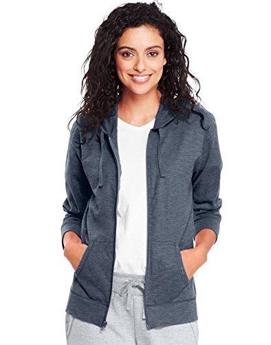 hanes-womens-slub-jersey-hoodie-o9249-l-dada-grey-heather