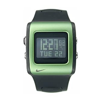 Nike Mettle Blade Digital Watch - Black/Green - WC0037-033
