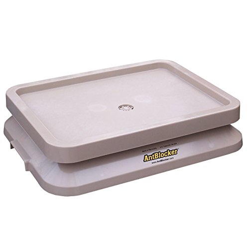 antblocker-100-anti-free-pet-food-tray-large-sandstone-forrest-green