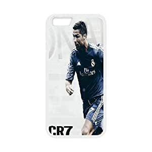 Real Madrid Players Cristiano Ronaldo for iphone 6s 4.7 Phone Case Cover 66TY426859