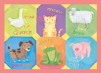 Peaceable Kingdom Poster Print - (20 x 16) Animal Noises quality print art by Melissa Sweet