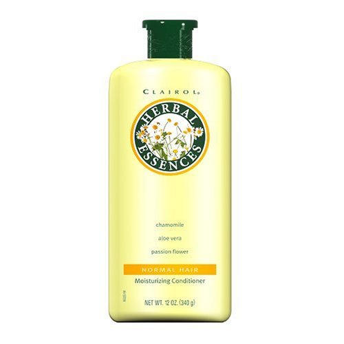 Clairol Herbal Essences Moisturizing Conditioner For Normal Hair with Chamomile Aloe Vera Passion Flower, 12 Ounces