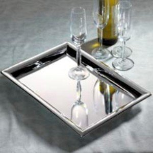 Drink Tray - Godinger 11 in. x 16 in. Rectangular Tray